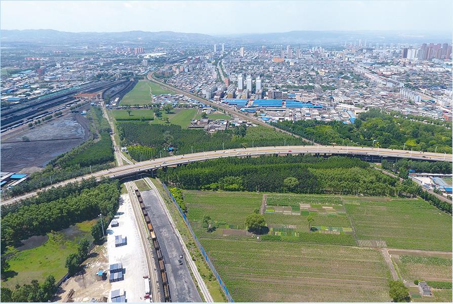 介休三贤大道跨铁路高架桥